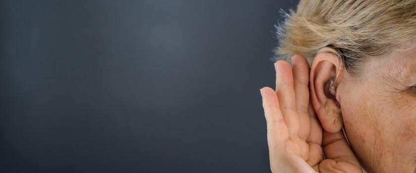 Jakość słuchu można badać, obserwując wzrok