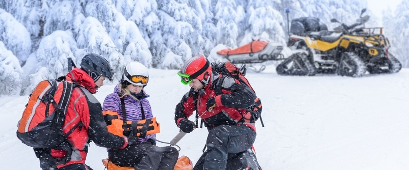 Ferie zimowe – pierwsza pomoc w nagłych wypadkach