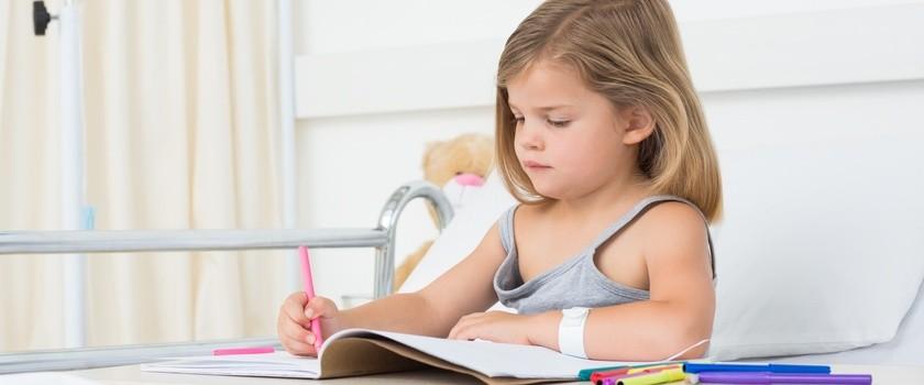 Infekcje w dzieciństwie mogą wpływać na wyniki w szkole