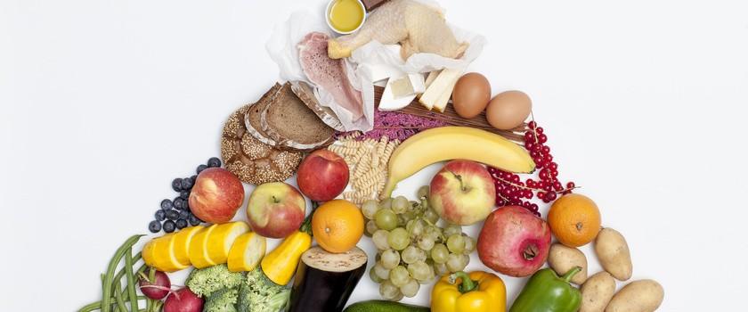 Piramida zdrowego żywienia dla dzieci i dorosłych