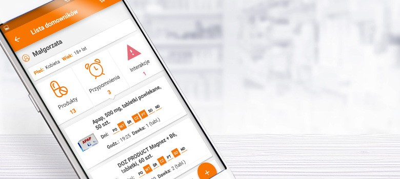 Zdrowie zawsze pod kontrolą! Poznaj aplikację mobilną DOZ.pl