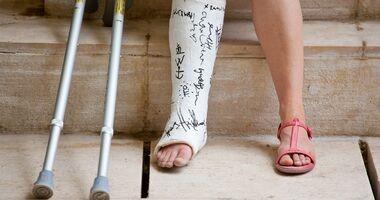 Leczenie złamania kości