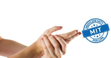Czy strzelanie kostkami dłoni prowadzi do artretyzmu?