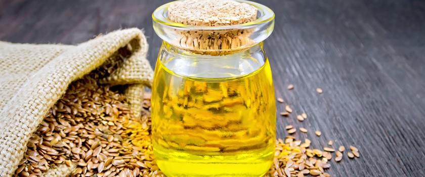 Olej lniany – właściwości, działanie, przepisy