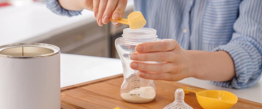 Preparaty mlekozastępcze dla noworodków i niemowląt z alergią pokarmową