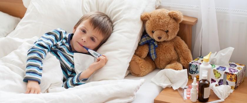 Zanim pójdziesz do lekarza - domowe sposoby na przeziębienie u dziecka