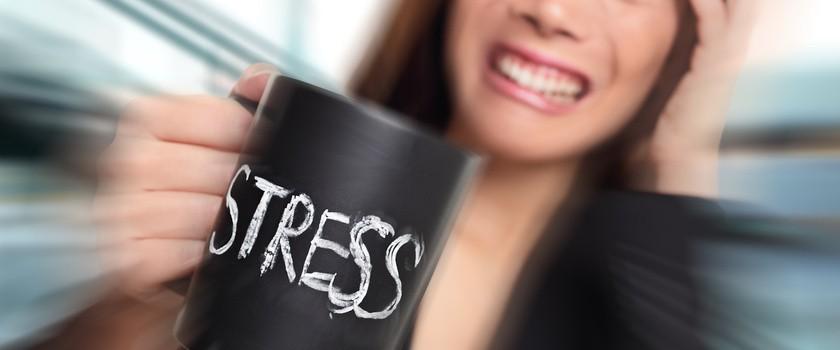 Stres nie sprzyja ładnej cerze