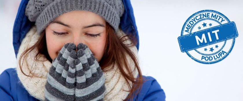 Przebywanie na mrozie wiąże się z przeziębieniem?