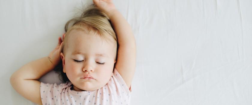 Nie martw się, jeśli niemowlę nie przesypia nocy
