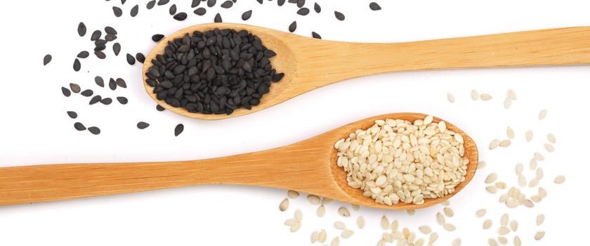 Sezam (czarny i biały) – wartości odżywcze i właściwości zdrowotne