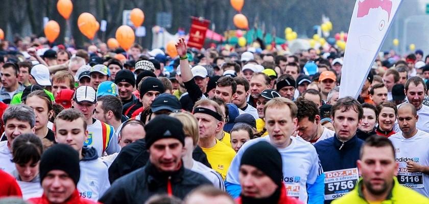 Rekordowy Łódź Maraton Dbam o Zdrowie