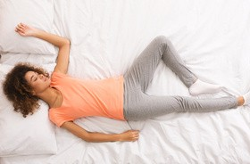 Najzdrowsze pozycje do spania
