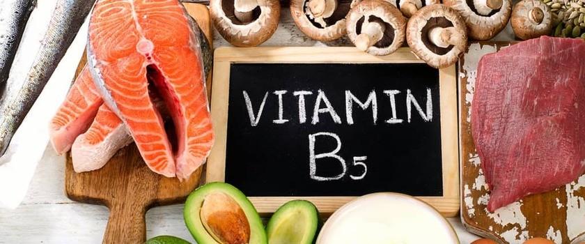 Witamina B5 (kwas pantotenowy) – funkcja w organizmie, suplementacja, niedobór, nadmiar