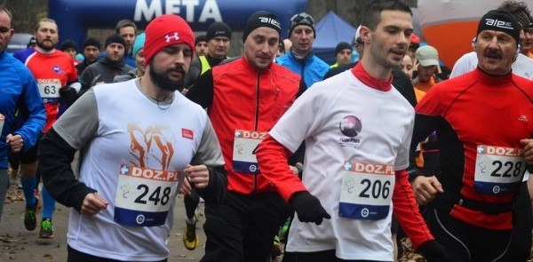 """""""Święty Mikołaj ucieka"""" - czyli kolejna niespodzianka dla uczestników Puchar DOZ Maratonu Łódź"""