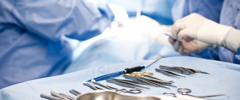 Klej zamiast nici chirurgicznych