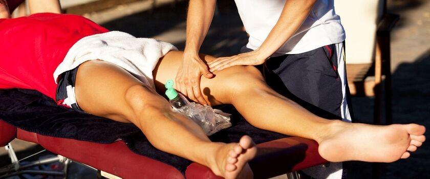 Jaki masaż stosować bezpośrednio przed startem w zawodach?