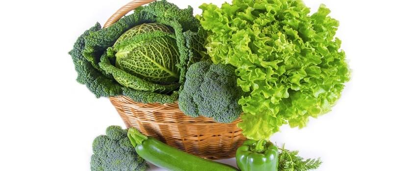 Przegląd zielonych warzyw — część 2