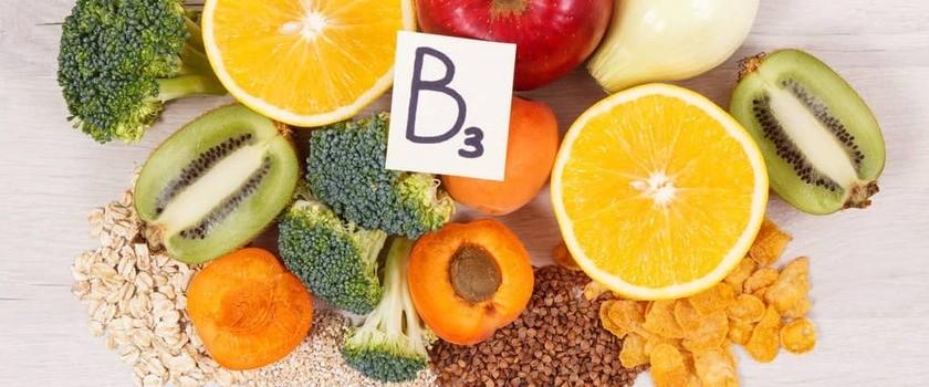 Witamina B3 (niacyna, PP) – funkcja w organizmie, suplementacja, niedobór, nadmiar
