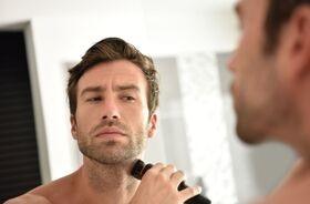 Pielęgnacja twarzy mężczyzny