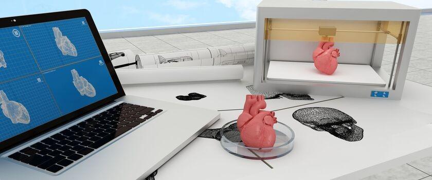 Model z drukarki 3D pomoże Polakom zbudować sztuczne serce
