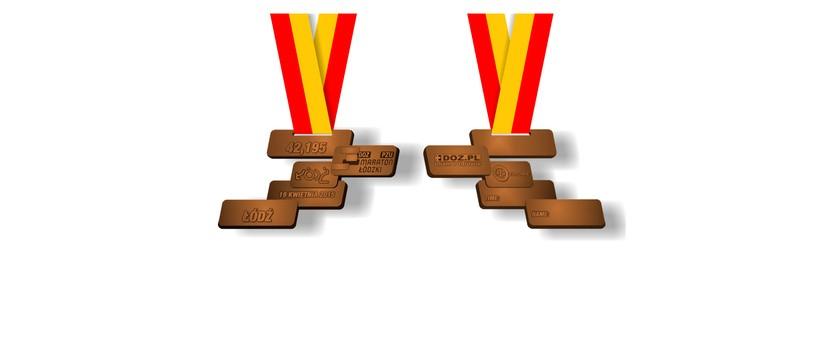 Oryginalny medal dla maratończyków