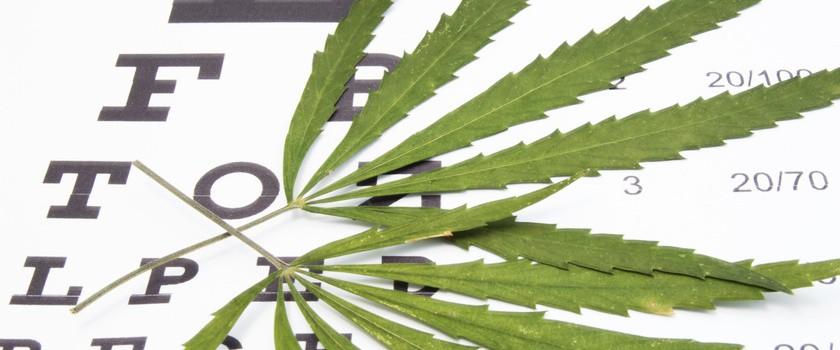 Marihuana może pogłębiać jaskrę