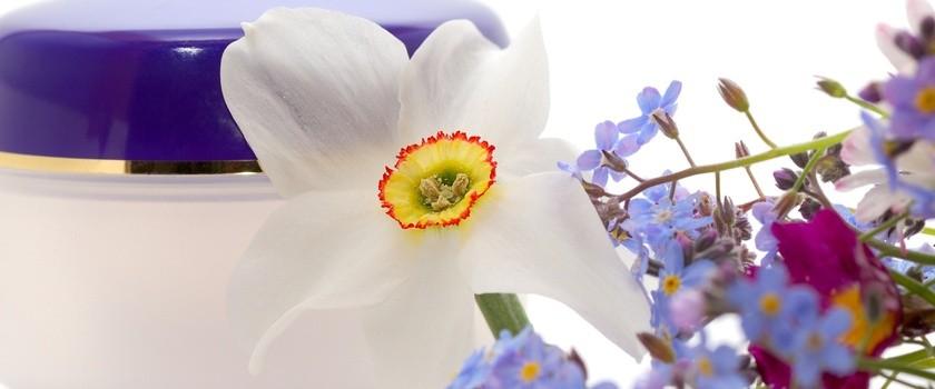 Kwiaty w kosmetyce