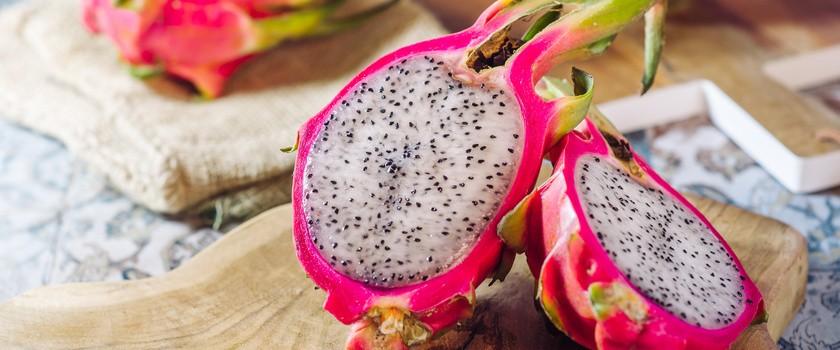 Smoczy owoc – czym jest dragon fruit i jakie właściwości prozdrowotne posiada