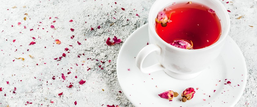 Zęby nie lubią owocowej herbaty
