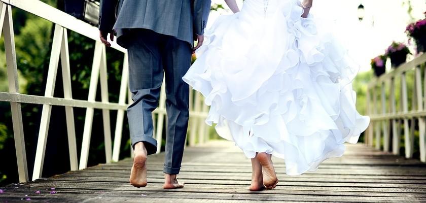 Uroda w dzień ślubu