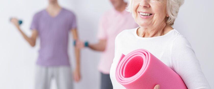 Aktywność dla seniora - przykłady ćwiczeń