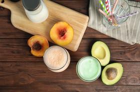 Awokado i brzoskwinia – zdrowo, smacznie, pięknie