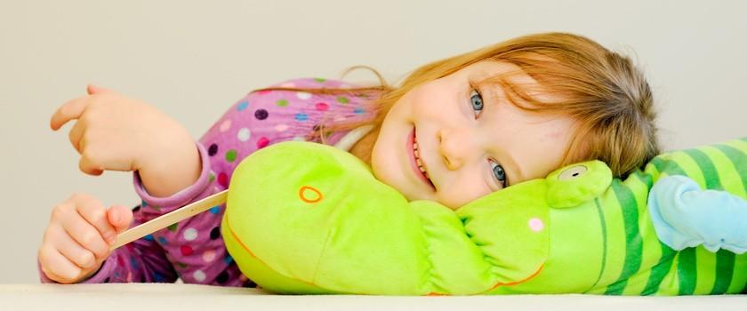 7 patentów na rozchmurzenie chorego maluszka