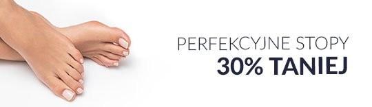 Perfekcyjne stopy 30% taniej