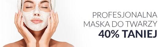 Profesjonalna maska do twarzy 40% taniej