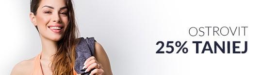 OSTROVIT -suplementy dla sportowców 25% taniej