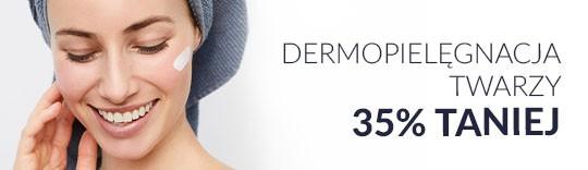 Dermopielęgnacja twarzy 35% taniej