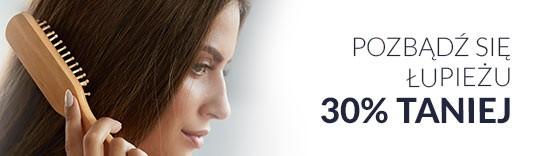 Włosy bez łupieżu 30% taniej