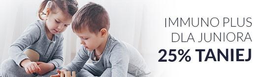 Immuno PLUS dla Juniora 25% taniej