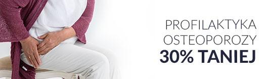 Profilaktyka osteoporozy 30% taniej