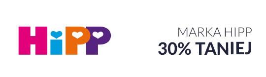 Marka HIPP 30% taniej