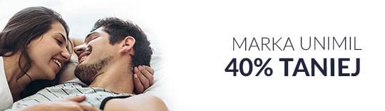 Marka Unimil 40% taniej