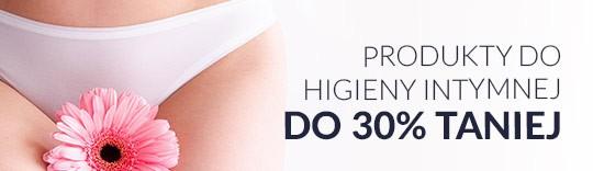 Produkty do higieny intymnej do 30% taniej