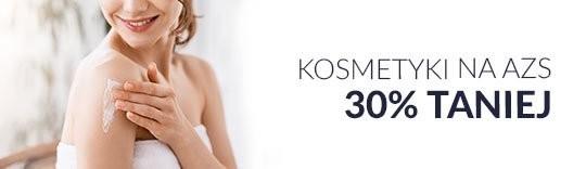 Kosmetyki na AZS 30% taniej
