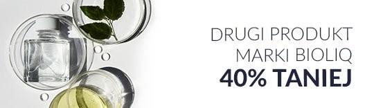 Drugi produkt marki Bioliq 40% taniej