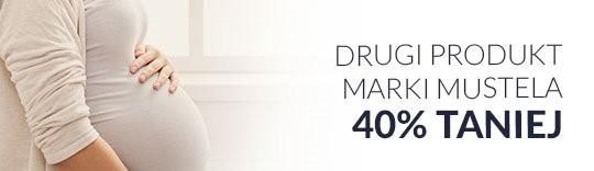 Drugi produkt marki MUSTELA 40% taniej