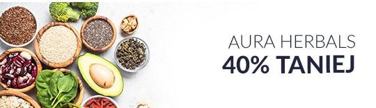 Aura Herbals 40% taniej