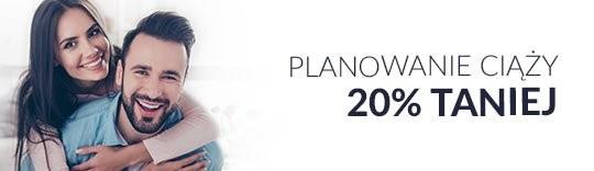 Planowanie ciąży 20% taniej