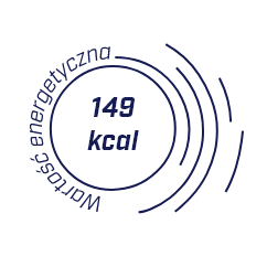wartość energetyczna 149 kcal