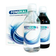 Fomukal, płyn do płukanie jamy ustnej, 1 zestaw